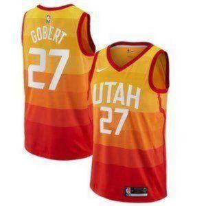 MEN Utah Jazz Rudy Gobert City #27 Jersey